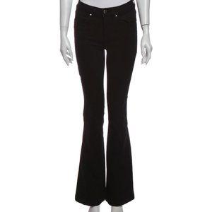 NWT karen millen black flare jean - size 6